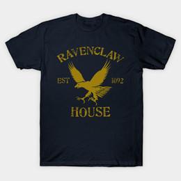 Wholesale Black House Letters - House Ravenclaw T-Shirt
