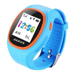 Wholesale Gps Mobile Tracking - ZGPAX S886 Smart Kids GPS Tracking Watch Mobile APP Sync Real Time Monitor SOS Calls Pedometer GPRS LBS Mode For Android IOS.