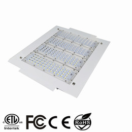 Led-tankstelle beleuchtung online-150W LED Floodlights 200W Canopy Light 100W 120W High Bay Light Recessed Mounted For GAS Station Light AC 85-277V