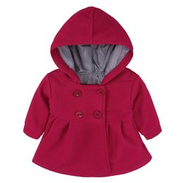 Canada Manteau Bébé Manteau Enfant Printemps Hiver Corne Bouton Manteau À Capuche Survêtement Veste Enfants Filles Vêtements Offre