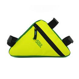2018New спорта на открытом воздухе езда оборудование велосипед треугольник сумка Велоспорт сумки четыре цвета от Поставщики руль для мотоцикла