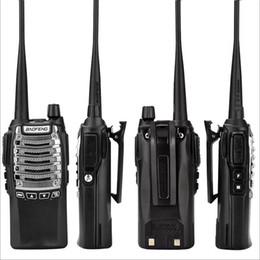 Radio di prosciutto online-Baofeng BF-UV8D Radio bidirezionale Walkie Talkie UHF 8W 128CH DTMF Dual PTT FM Radio ricetrasmittente Ham 10 KM UV-5R 8W