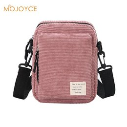 2018 Stylish Corduroy Women Bag Casual Ladies Girls messenger Bag Trendy  Shoulder Phone Bags Brand Design New Handbags Bolso a186648bf5a15