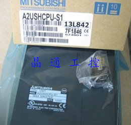 Controlador de plc online-100% nuevo en caja Mitsubishi PLC A2USHCPU-S1 Controlador lógico programable modular