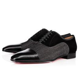 Vestido elegante ao ar livre on-line-Elegant Business Party Vestido De Casamento Greggo Orlato Flat, Moda Vermelho Inferior Oxfords Sapatos, Homens Ao Ar Livre Sapatos De Caminhada Casuais 38-47