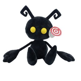 Wholesale Kingdom Hearts Free - Free Shipping 30cm Kingdom Hearts Ant Plush Doll Stuffed Toy Shadow Heartless Ant soft toy for kids gift