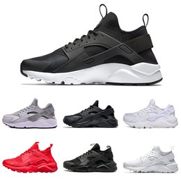 be743d753adb 2018 New Air Huarache 1.0 4.0 Women   Men Running Shoes grey gold black red  white Outdoor Running Trainers Sneakers 36-45