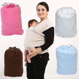 Wholesale Pink Baby Carriers - HOT Newborns Baby carrier Breastfeeding straps towel Multifunctional Nursing Cover Sling Belt for carrying infant 9 colors