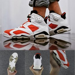 Wholesale High Quality Best Sneakers - Best-selling Retro 6 Gatorade Basketball Shoes Sneakers Foreign Men hot white red High Quality Athletic Sport Sneakers link Size US 8-13