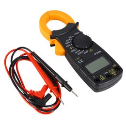Wholesale High Voltage Testers - dhgate.com High Quality Digital Amper Clamp Meter Current Clamp Pincers AC DC Current Voltage Resistance Tester dhgate