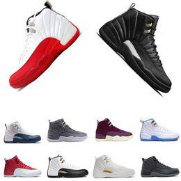buenos zapatos nuevos Rebajas Nuevos zapatos de baloncesto para hombre 12 12 sneakers Gym Red Wolf Grey UNC Zapatos deportivos azules Niños pequeños moda popular regalo agradable