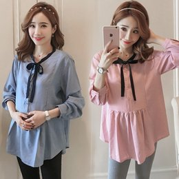 Mother & Kids Hot Sale 2019 Spring And Autumn Maternity Clothes Long Sleeve Chiffon Pregnant Women Shirts Long Loose Floral Chiffon Blouses With A Long Standing Reputation