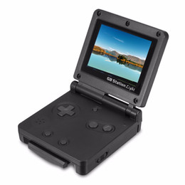 Wholesale handheld lcd tv - Hot GB Station 8 Bit Kid Handheld Game Console TV Out 2.7'' LCD Retro Portable Games Player PK PXP3 PVP MD16 PAP PMP For Children Gaming Toy