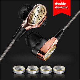 Wholesale clear earphones - 3.5mm In-Ear Earphone Special Edition Headset Clear Bass Earphones With Microphone Heavy Bass Sound Quality Music Earphone