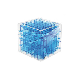 Wholesale Toy Maze Games - Maze Magic Cube Puzzle 3D Mini Speed Cube Labyrinth Rolling Ball Toys Puzzle Game Cubos Magicos Learning Toys For Chilren