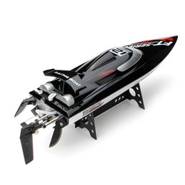 Wholesale brushless electric rc - 2018NEW RC BOAT FT012 High Speed RC Racing Boat Brushless Fast Self Righting 45km h VS FT011 FT010 FT009