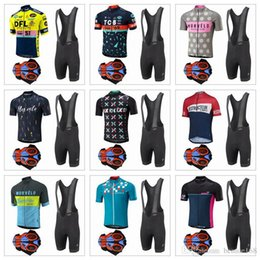 Wholesale Cycling Jersey Short Sleeve Black - 2017 Morvelo Cycling Jerseys Short Sleeves Cycling Clothes Kit With 9D Gel Padded Shorts Hombre Racing Mtb Bike Sport Quick Dry Ropa Ciclism