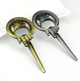 Wholesale Bottle King - DHL Bottle Opener Hand of the King And Game of Thrones Wedding Favors Metal Alloy Kitchen Tools Bar Beer Bottle Opener Nice Gifts