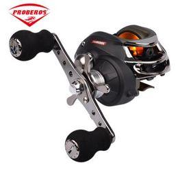 Carrete de pesca 10 BB rueda de goteo 6 engranaje freno centrífugo universal artes de pesca DW120 desde fabricantes