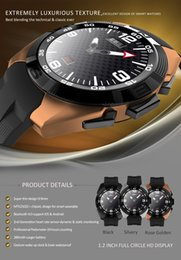 Wholesale Thinnest Waterproof Wrist Watch - NB-1 SmartWatch Ultra-Thin Heart Rate Monitor MTK2502 support Voice Control Siri ECG transmission smart wrist watch for ios&android