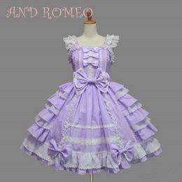 милые платья японцы Скидка 6 Colors Sweety Lolita Dresses Women Maid Cosplay Dress Cute Girls One Piece Layered Dress Japanese Anime Role Play Costume