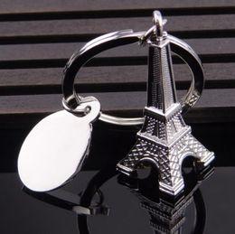 2019 passeios chave Torre Eiffel de prata Chaveiro Paris Tour Eiffel Chaveiro Francês Lembrança Modelo Pingente Chaveiro 50 pcs OOA4607 desconto passeios chave