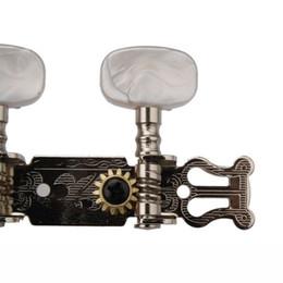 Botão peg on-line-6 pcs Guitarra Clássica Pegs de Máquina de Costura Botão Oval