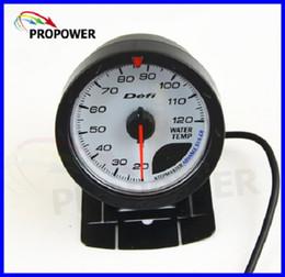 Sensores honda on-line-2.5 polegada 60 MM DF Advance Medidor de Medidor de CR Medidor de Temperatura Temp Água Rosto Branco Com Sensor de Temp