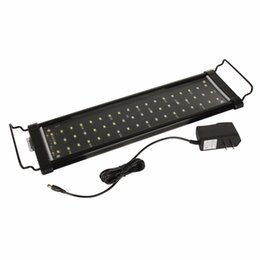 Wholesale Aquaria Led - 30cm 40cm 60cm 90cm Aquarium Light Fish Tank Epistar SMD LED Light Lamp 2 Modes White+Blue Marine Aquarium Led Lighting
