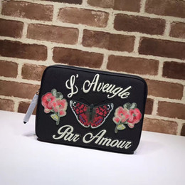 embroidery designs cartoons NZ - Top Quality Luxury Celebrity design Letter Embroidery bee Flowers Tiger Clutch Canvas briefcase Genuine Leather Canvas 473883 Handbag
