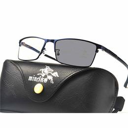 Occhiali da sole di vista online-Moda Occhiali progressivi multifocali Occhiali da sole di transizione Occhiali da lettura fotocromatici Uomo Punti per Reader Near Far Sight FML