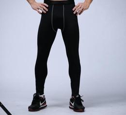 Argentina Pantalones de compresión para hombre deportes medias de baloncesto pantalones de gimnasia culturismo joggers leggings flacos pantalones de longitud completa envío gratis supplier leggings Suministro