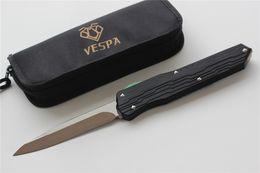 Argentina VESPA Versión Cuchilla de cuchilla plegable: M390 (Negro S / E) Manija: 7075 Aluminio + TC4, cuchillos de supervivencia para acampar al aire libre Herramienta EDC, envío gratis cheap knife tc4 Suministro