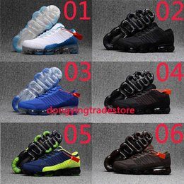 Wholesale Model Sports Shoes - High Quality Drop Models KPU Vapor 2018 Running Shoes Cushion Weightlight Trainer Outdoor Sports Shoes Sneakers Size 40-46