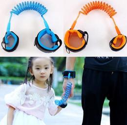 Pulseira crianças perdido on-line-2018 Crianças anti-perdida corda de tração anti-lost pulseira de segurança anti-lost corda deslizamento bebê