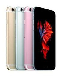 Wholesale Apple Iphone 2g - Original iPhone 6S With Touch ID Unlocked 12MP 2G Rom 16GB 64GB 128GB IOS 9.0 Refurbished HD Dual Core iPhone6s