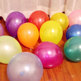 100 ballons en latex 10 pouces 1.5g perle bonbons ballons anniversaire décorations de fête baloons adultes mariage anniversaire fournitures enfants jouet ? partir de fabricateur