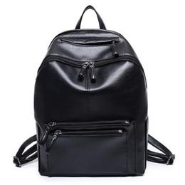 Wholesale Vintage Preppy Backpacks For Girls - Women Backpack High Quality PU Leather Mochila Escolar School Bags For Teenagers Girls Vintage Top-handle Backpacks