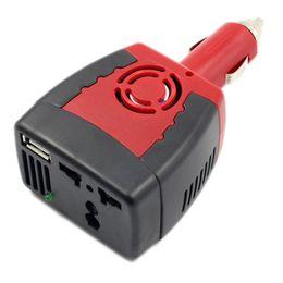 2019 12 volt wechselrichter Neue 150 Watt Auto Wechselrichter 12 V DC zu 220 V / 110 V AC Converter Adapter 5 V USB Ladegerät rabatt 12 volt wechselrichter