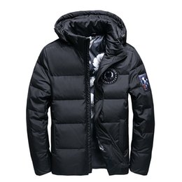 4d9cb7dfc85 High Quality White Duck Thick Down Jacket men coat Snow parkas male Warm  Brand Clothing winter Down Jacket Outerwear