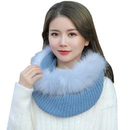 Argentina Bufanda hecha punto de las mujeres del invierno 2018 muchachas bufandas calientes de la cachemira del mantón de la manera bufanda suave gruesa collar del anillo o + sombrero a prueba de viento Suministro