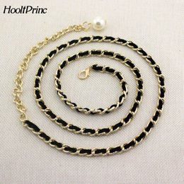 Wholesale Korean White Dress For Women - Decoration Belt Skirt Waist Bring Sweet Korean Fashion Joker Metal Waist Chain Woman Decoration Belt Woman Belts For Dress