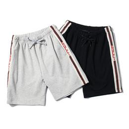 Wholesale high waist pleated pants - New Designer Shorts Men Brand Short Pants Summer High Street Beach Shorts Luxury Brand Mens Leisure Underwear Loose Fashion Sports Shorts
