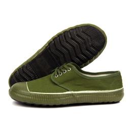 Wholesale Canvas Farm - 1954 Liberation shoes website farm summer insurance canvas school military training work rubber safety shoes eur36-45