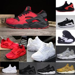 Wholesale Running Shoes Run Wide - Newest Air Huarache I Running Shoes For Men Women,Green White Black Rose Gold Sneakers Triple Huaraches 1 Trainers huraches Sports Shoes