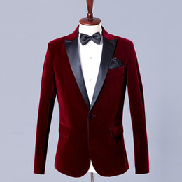 Wholesale Party Host - Host Custom Groom Tuxedos Wedding Suit Wedding Dresses Party Prom Suits Slim Fit for Men Fashion 2Pieces (Jacket+Pants ) 2018