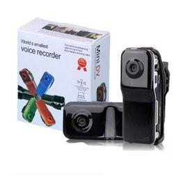 auto-aktionen Rabatt MD80 Smart Mini Kamera Portable Audio Video Recorder Camcorder Sport Action DV Auto DVR Digital Camcorder Webcam Unterstützung TF-Karte