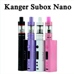 Wholesale Box Evic - Top Quality Subox Nano Starter Kit kbox nano box mod Evic vtc subox mini Topbox nano kit MOQ 5pcs