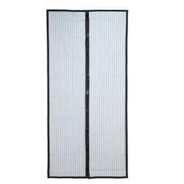 Canada 210 x 100 cm mains libres magnétiques d'été anti-moustiques rideaux chiffrement moustiquaire sur les aimants de porte écran porte rideau Offre