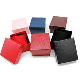 100 teile / los Heiße Verkäufe Luxus Uhrenboxen Pappteller Mit Kissen Uhr Schmuck Aufbewahrungskoffer Geschenkbox Paket Großhandel von Fabrikanten